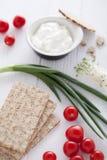 sund ingredienssmörgås Arkivbild