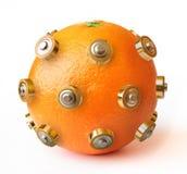 sund isolerad orange för energi Royaltyfria Bilder