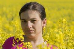 sund kvinna Fotografering för Bildbyråer