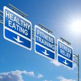 sund livsstil för begrepp Fotografering för Bildbyråer