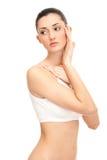 sund livsstil för skönhetsmedelhälsa Royaltyfri Fotografi