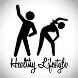 Sund livsstildesign Arkivbild