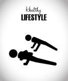 Sund livsstildesign Arkivfoto