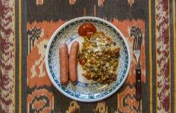 sund lunch royaltyfri bild
