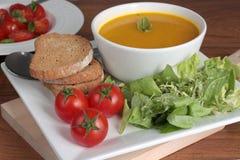 sund lunch Arkivbild