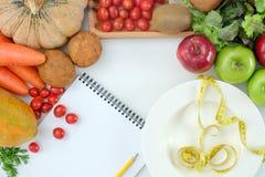 Sund mat bantar väger det Ketogenic förlustbegreppet bantar royaltyfria bilder