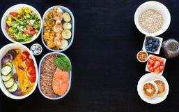 Sund mat för kondition royaltyfri fotografi