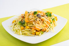 Sund mat för strikt vegetarian Arkivbild