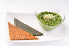 Sund mat för strikt vegetarian Arkivfoton