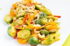 Sund mat för strikt vegetarian Royaltyfria Bilder