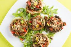 Sund mat för strikt vegetarian Royaltyfri Bild