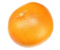 sund mat grapefrukt som isoleras på vit bakgrund arkivbild