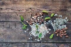 Sund mat, mål, bakgrund, bantar, organiskt, kondition, vegetarian, royaltyfri foto