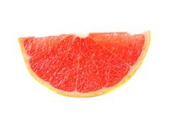 sund mat skivad grapefrukt som isoleras på bästa sikt för vit bakgrund Arkivfoto