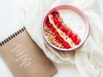 Sund och läcker mat Royaltyfri Fotografi