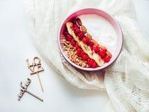 Sund och läcker mat Arkivfoto