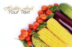 Sund organisk grönsak Arkivbilder