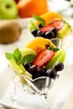 sund sallad för frukt Arkivfoton