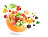 sund sallad för frukt Arkivbild
