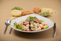 sund salladvegetarian Royaltyfria Bilder