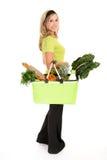 sund shoppare Arkivbild
