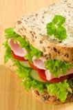 sund smörgås Arkivbilder