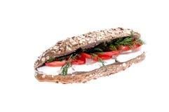 sund smörgås Arkivfoto