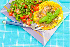 sund sommar för frukost royaltyfri bild