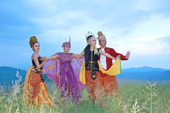 Sunda dancer Royalty Free Stock Photography