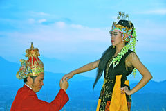 Sunda dancer Stock Images