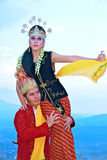 Sunda dancer Royalty Free Stock Photo