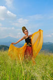 Sunda dancer Royalty Free Stock Photos