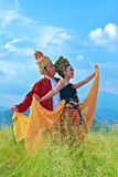 Sunda dancer Stock Photos