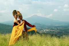Sunda dancer Stock Image