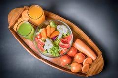 Sunda foods är på tabellen, Royaltyfri Fotografi
