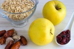 Sunda frukostingredienser Arkivbilder
