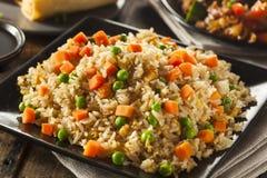 Sunda hemlagade Fried Rice Royaltyfria Bilder