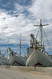 Sunda kelapa harbor Royalty Free Stock Photography