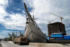 Sunda kelapa harbor Stock Photos