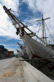 Sunda kelapa harbor Royalty Free Stock Photo
