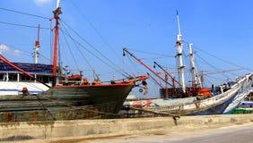 Sunda kelapa harbor Stock Image