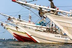 Sunda Kelapa Harbour Jakarta, Indonesia Royalty Free Stock Photo