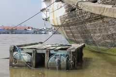 Sunda Kelapa port Obraz Stock
