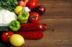 Sunda organiska grönsaker Fotografering för Bildbyråer