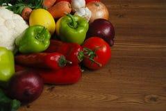 Sunda organiska grönsaker arkivbild