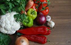 Sunda organiska grönsaker Arkivbilder