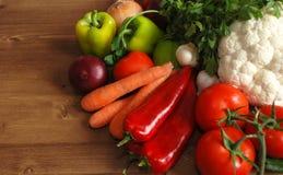 Sunda organiska grönsaker Arkivfoton