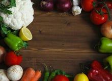 Sunda organiska grönsaker Royaltyfria Bilder