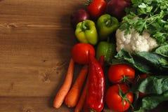 Sunda organiska grönsaker Royaltyfria Foton
