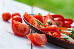 sunda salladtomater Fotografering för Bildbyråer